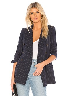 L'AGENCE Brea Double Breasted Blazer