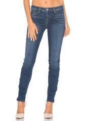 L'AGENCE Chanelle Mid Rise Skinny Zip Jean