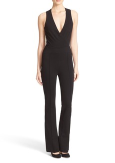 L'AGENCE Clara Crossback Jumpsuit