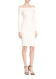 L'AGENCE Daphne Off-The-Shoulder Dress
