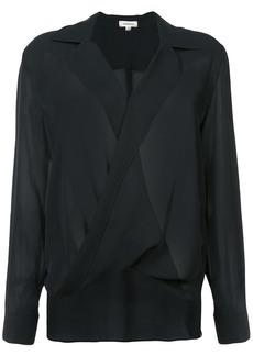 L'agence draped blouse - Black