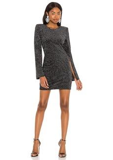 L'AGENCE Eden Slit Sleeve Mini Dress