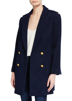 L'Agence Emmi Double-Breasted Pea Coat