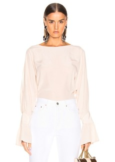 L'AGENCE Gianne Open Sleeve Blouse