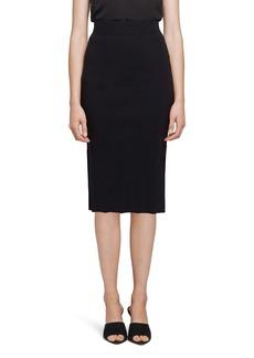 L'AGENCE Jessica Knit Midi Skirt