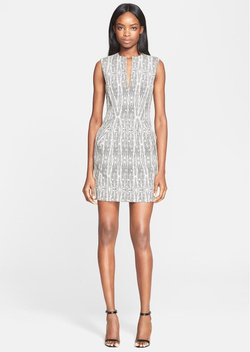 sale l 39 agence l 39 agence 39 june 39 jacquard knit sheath dress shop it to me. Black Bedroom Furniture Sets. Home Design Ideas