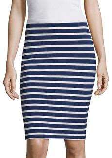 L'Agence Khamilla Striped Pencil Skirt