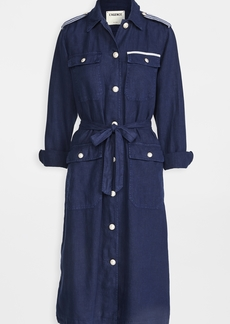 L'AGENCE Kinsley Long Coat Tape