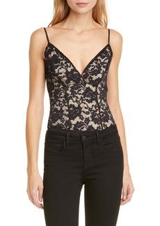 L'AGENCE Laurette Lace Bodysuit