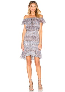 L'AGENCE Leonie Off The Shoulder Dress