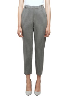 L'AGENCE Ludivine Stripe Crop Trousers