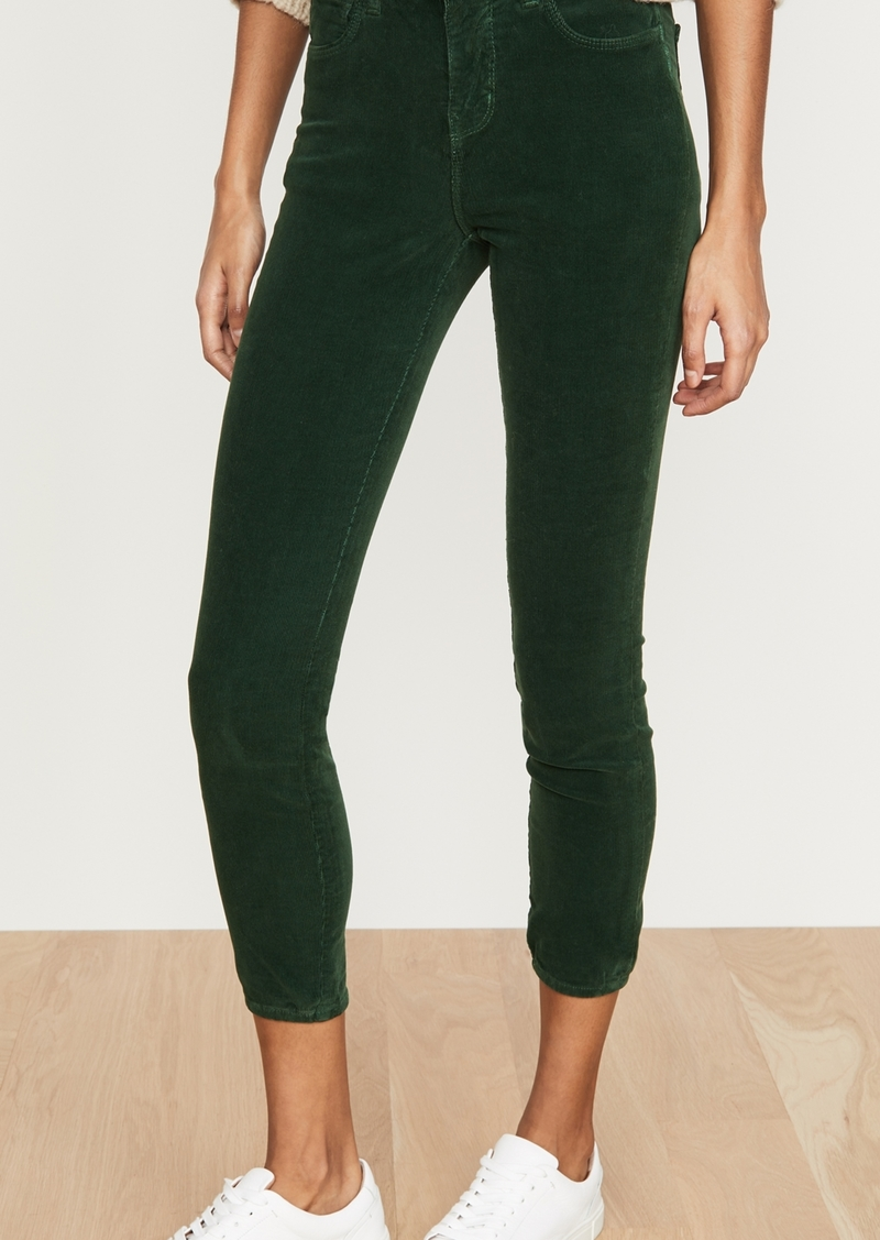 L'AGENCE Margot Cord High Rise Skinny Jeans