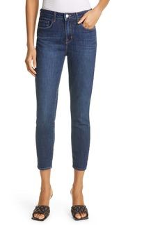 L'AGENCE Margot Crop Skinny Jeans (Meade)