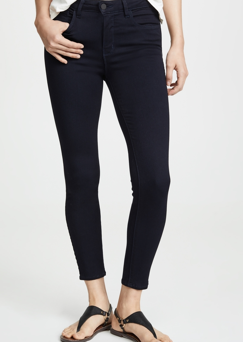L'AGENCE Margot High Rise Lightweight Ankle Skinny Jeans
