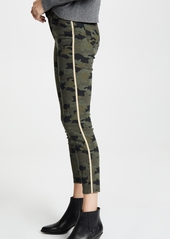 L'AGENCE Margot High Rise Skinny with Metallic Trim