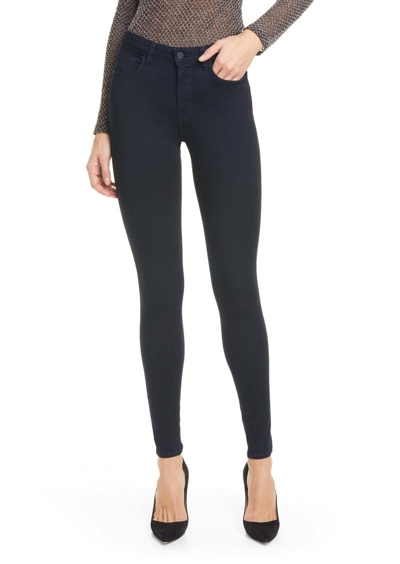 L'AGENCE Marguerite High Waist Skinny Jeans (Metro)