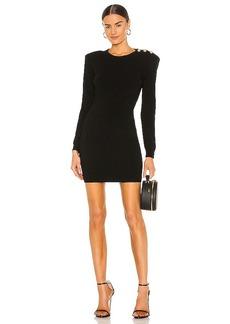 L'AGENCE Minette Long Sleeve Knit Dress