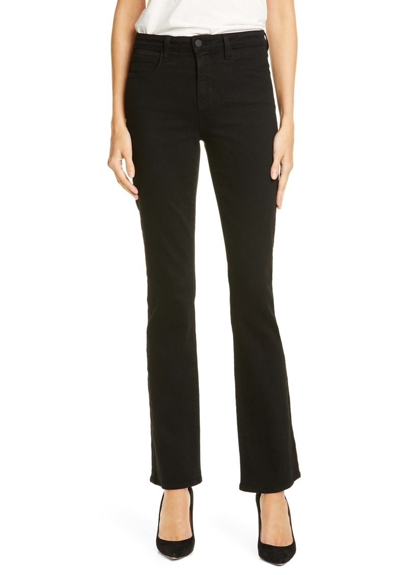 L'AGENCE Oriana Bootcut Jeans (Noir)