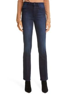 L'AGENCE Oriana High Waist Straight Leg Jeans (Belmont)