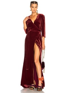 L'AGENCE Rosalind Wrap Dress
