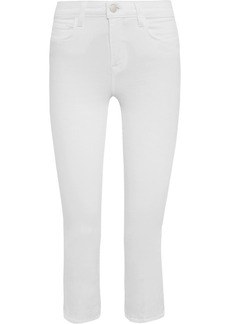L'Agence Serena cropped high-rise flared jeans