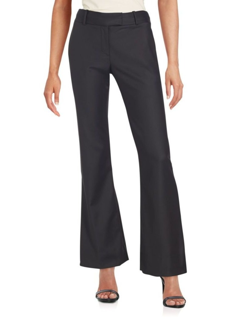 L'AGENCE Solid Bell-Bottom Pants