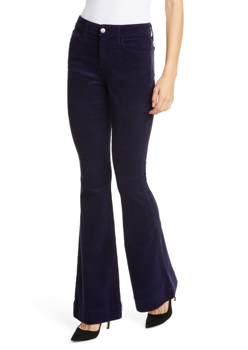 L'AGENCE The Affair Corduroy Flare Pants