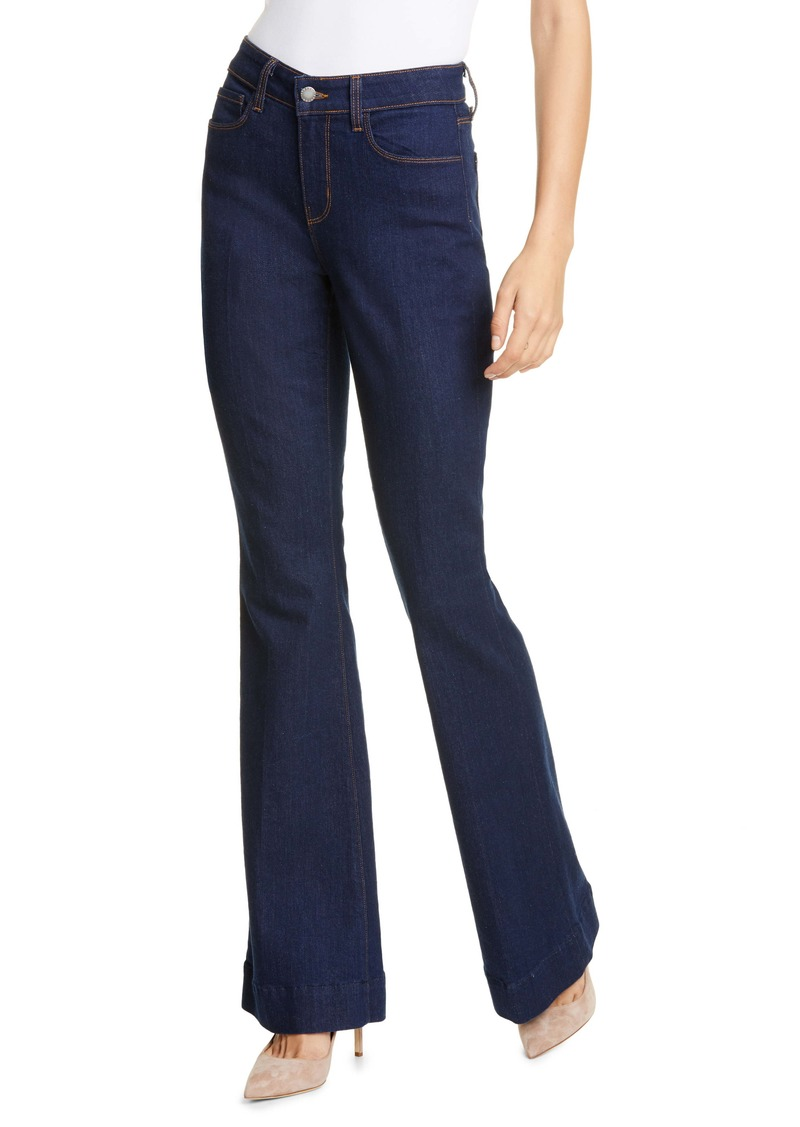 L'AGENCE The Affair Flare Jeans (Rinse)
