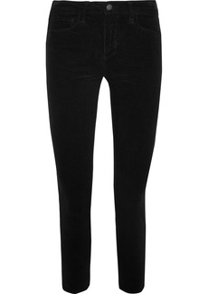 L'Agence The Margot high-rise corduroy skinny pants