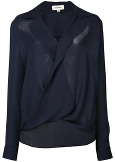 L'Agence twisted top