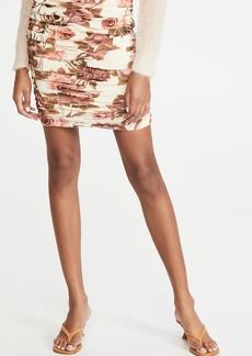 L'AGENCE Veronica Shirred Skirt