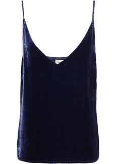 L'agence Woman Gabriella Velvet Camisole Navy