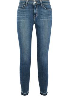 L'agence Woman Laguna French Mid-rise Skinny Jeans Mid Denim