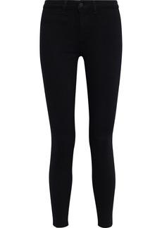 L'agence Woman Zeppelin High-rise Skinny Jeans Black