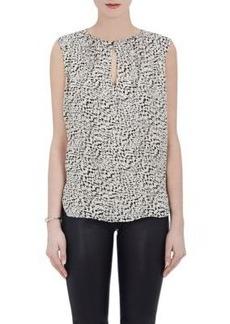 L'Agence Women's Abella Silk Sleeveless Blouse