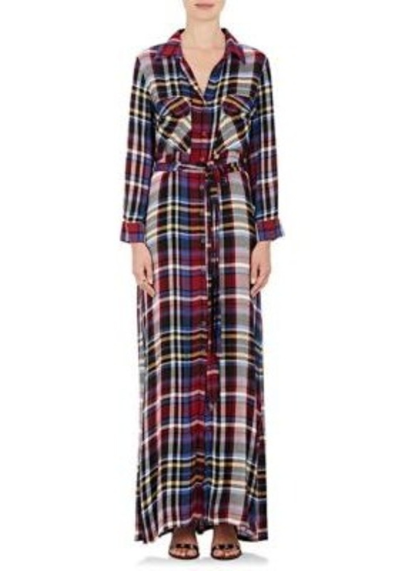 L\'Agence L\'Agence Women\'s Cassie Flannel Belted Shirtdress | Dresses