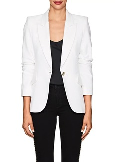 L'Agence Women's Chamberlain Tweed One-Button Blazer