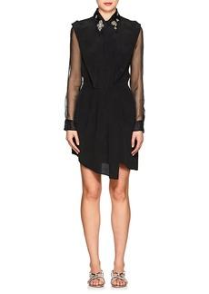 L'Agence Women's Cipriana Silk Crêpe De Chine Dress