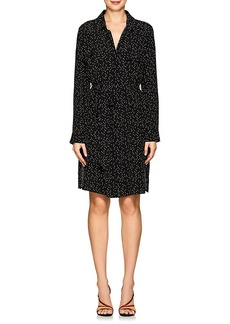 L'Agence Women's Cipriana Silk Shirtdress