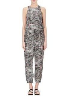 L'Agence Women's Cooper Silk Jumpsuit