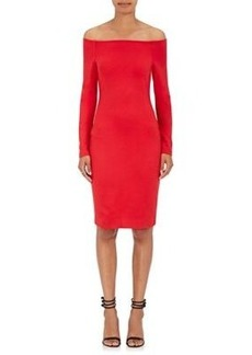 L'Agence Women's Daphne Jersey Off-The-Shoulder Dress