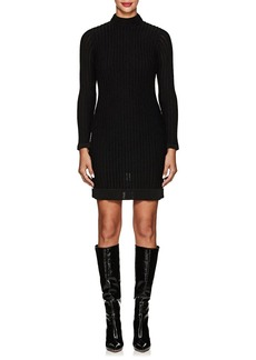 L'Agence Women's Edita Rib-Knit Dress