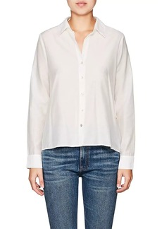 L'Agence Women's Hana Cotton-Silk Blouse