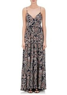 L'Agence Women's Honore Maxi Dress