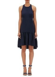 L'Agence Women's Kaela Twill Racerback Dress