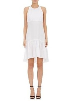 L'Agence Women's Kaela Twill Racerback Dress