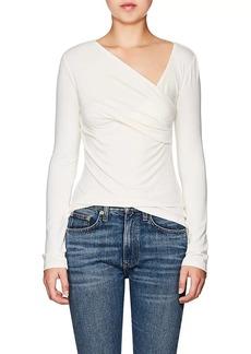 L'Agence Women's Karlie Jersey Wrap Top