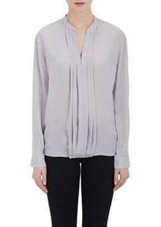 L'Agence Women's Lauren Silk Blouse