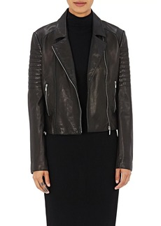 L'Agence Women's Leather Mercer Jacket