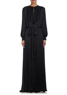 L'Agence Women's Lorena Silk Satin Dress